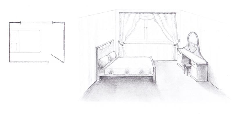 Неправильное расположение кровати - зеркало напротив кровати