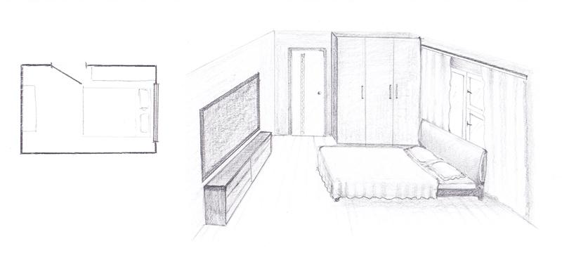 Неправильное расположение кровати - изголовьем к окну