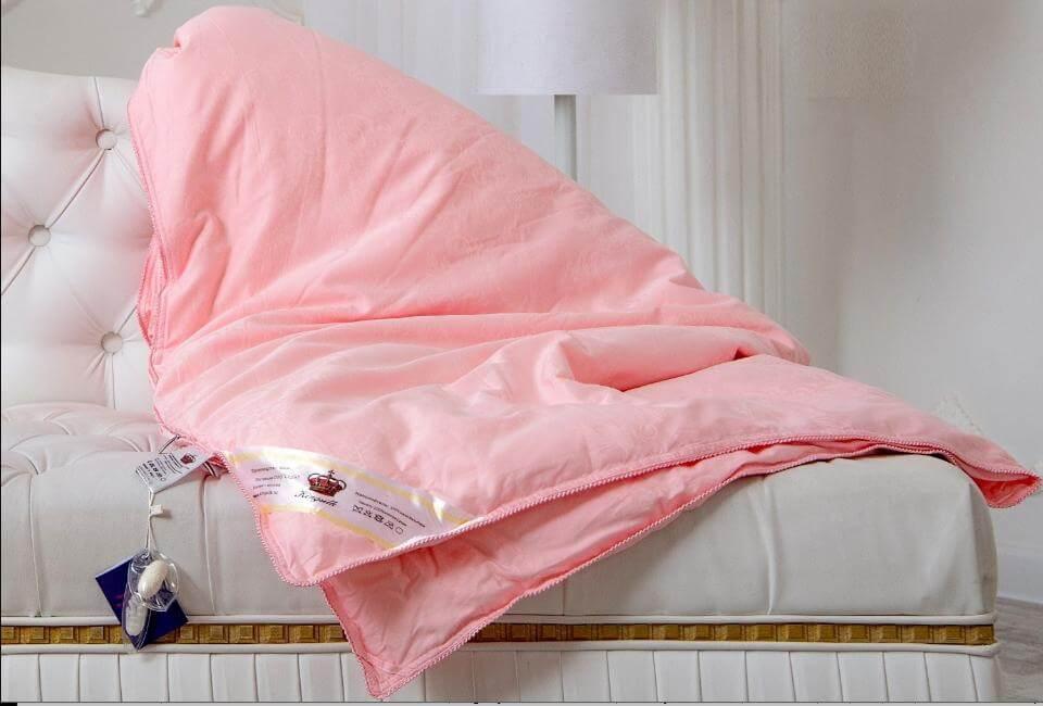 Шелковое одеяло Kingsilk Элит всесезонное - Detskoye-Postelnoe.Ru