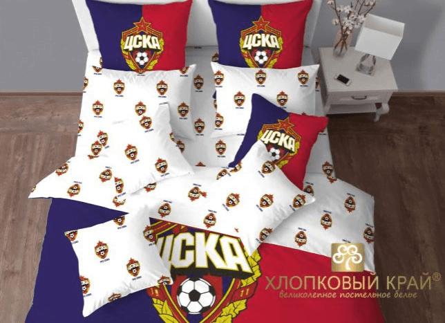 Постельное белье Хлопковый край ЦСКА - Петербург