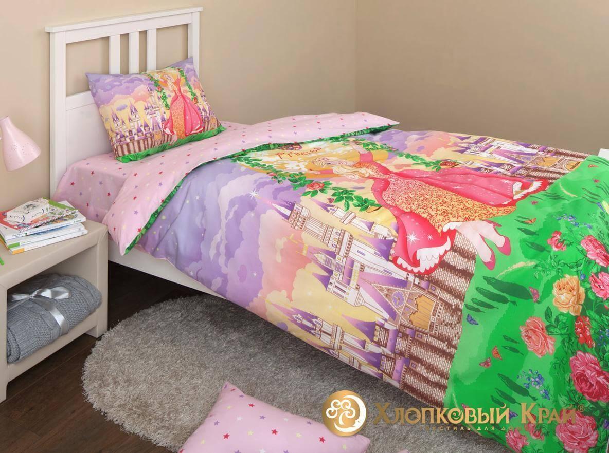 Детское постельное белье Хлопковый край Принцесса - Detskoye-Postelnoe.Ru