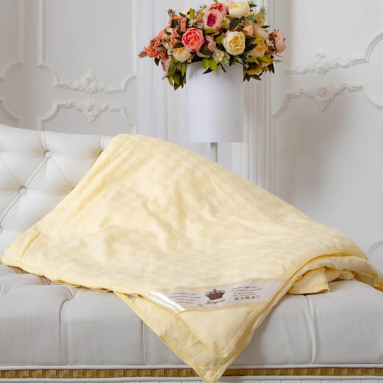 Летнее шелковое одеяло Kingsilk Элит - Detskoye-Postelnoe.Ru