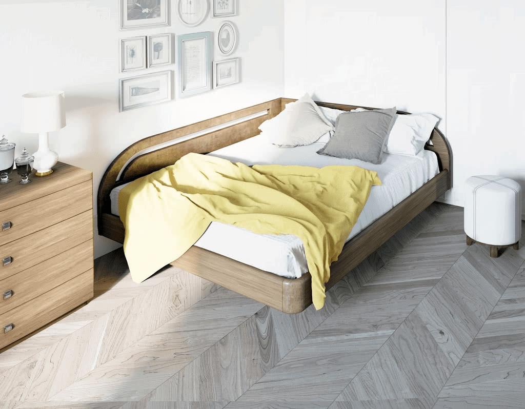 Кровать Торис Мати Румо левое