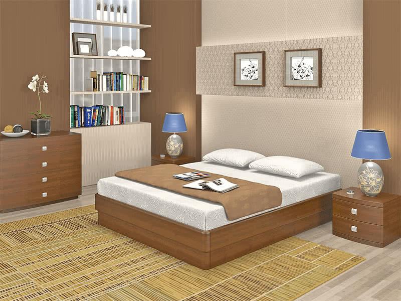 Кровать Торис Юма без спинки