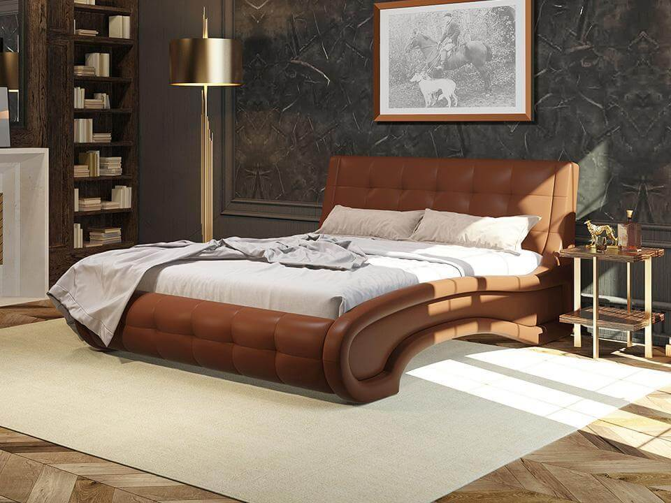 Кровать Орматек Leonardo (экокожа)