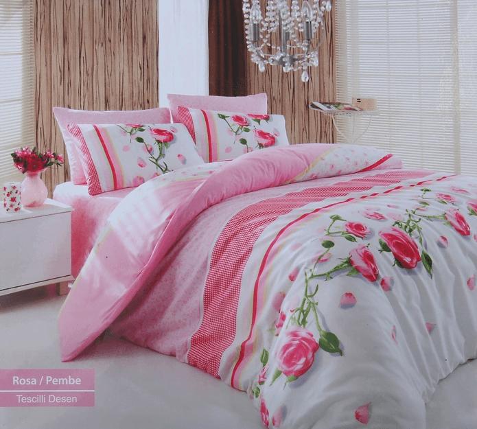 Постельное белье Cotton Life Rosa (70х70 см), розовый - Петербург