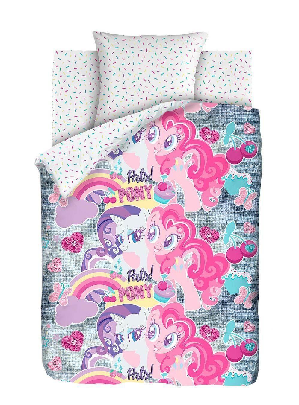 Неоновый комплект My Little Pony Подружки пони - Detskoye-Postelnoe.Ru
