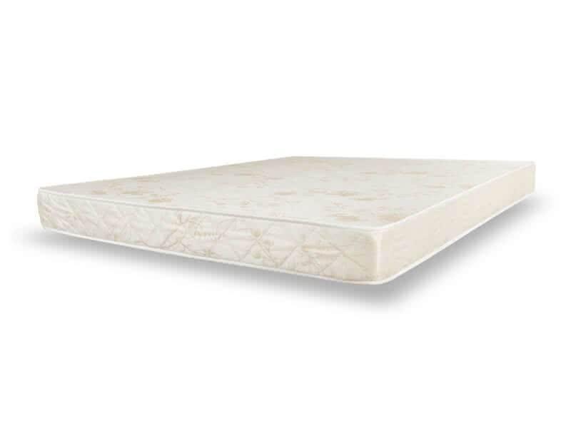 Кровать одноместная с ортопедическим матрасом