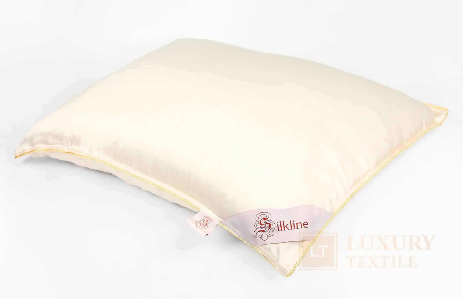 Шелковая подушка SilkLine в шелковом чехле - Петербург