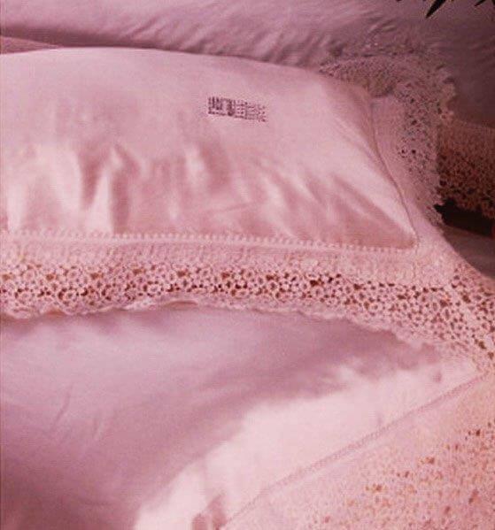 Постельное белье Silkline Pink - Петербург