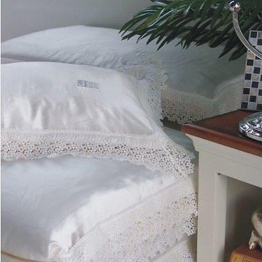 Постельное белье Silkline White - Петербург