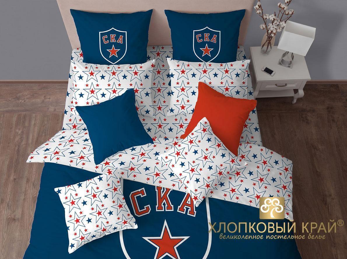 Постельное белье Хлопковый край СКА ХК - Петербург