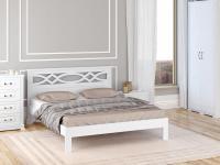 Кровать Райтон Nika-тахта сосна (эмаль)