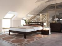 Кровать Райтон Веста 2-тахта-R береза (эмаль)