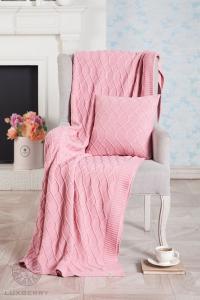 Плед Luxberry Lux 34, розовый, 150х200 см