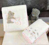 Детский набор из 2-х полотенец Tivolyo Pourtol, розовый