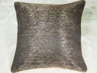 Декоративная подушка Asabella D8-4, золотисто-коричневый с черным