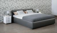 Купить кровать Moon Trade Прима 140 Модель 1200 (серый) с подъемным механизмом