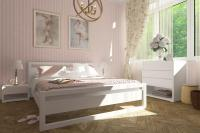 Купить кровать Орма - Мебель Квебек, белая эмаль