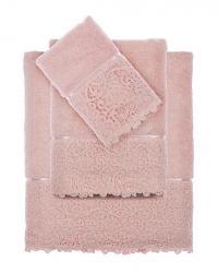 Набор из 3-х полотенец Tivolyo Forza, розовый