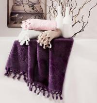 Полотенце Tivolyo Nervures 50х90 см, розовое