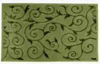 Коврик Arya Sarmasik, зеленый 70х120