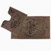 Коврик Arya Luxor, коричневый (2 предмета)