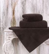 Полотенце Karna Mora 90x150, коричневый