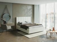 Кровать Oktava (ткань глазго)
