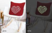 Декоративная подушка Primavelle Амор, люминесцентная вышивка