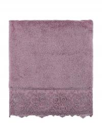 Полотенце Tivolyo Elegant 50х100 см, фиолетовое