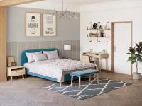 Кровать Райтон Lagom Plain Soft