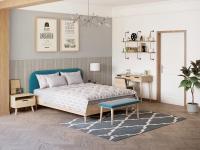 Кровать Райтон Lagom Plain Wood