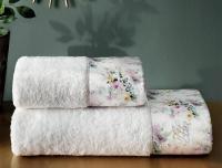Набор из 2-х полотенец Tivolyo Finola, кремовый