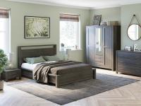 Кровать Райтон Fiord с подъемным механизмом (бук)