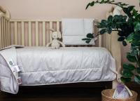 Детское одеяло и подушка German Grass Baby Organic Linen Grass