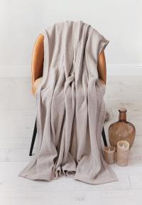 Плед Luxberry Lux 49, песочный, 150х200 см