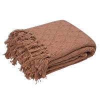 Купить плед Arloni Лайт, коричневый