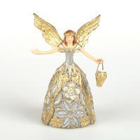 Фигурка Ангел с корзиной цветов, арт. 130-144