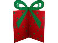 Декоративное изделие 3d Подарок с бантиком, арт. 749-114