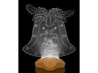 Фигурка с подсветкой Колокольчик, арт. 786-252