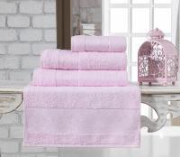 Полотенце Karna Pandora 50x90, светло-розовый