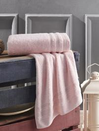 Полотенце Karna Derin 70x140, розовый