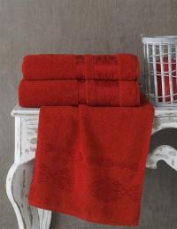 Полотенце Karna Rebeka 100x150, красный
