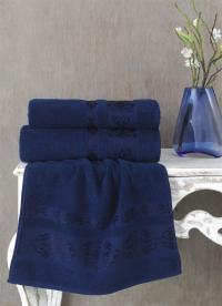 Полотенце Karna Rebeka 100x150, синий