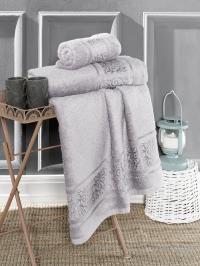 Полотенце Karna Armond 70x140, серый