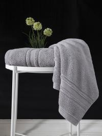 Полотенце Karna Serra 50x90, серый
