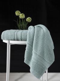 Полотенце Karna Serra 70x140, зеленый