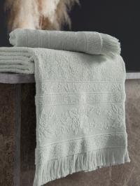 Полотенце Karna Lora 50x90, ментол