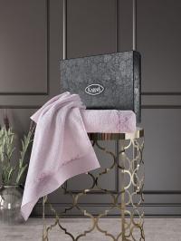 полотенец Karna Siena, грязно-розовый